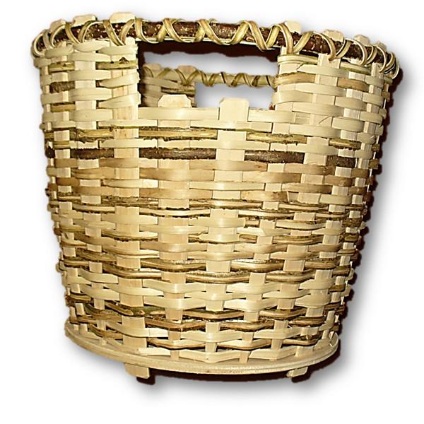 papierkorb aus haselnussholz handgeflochten mit herz gemacht. Black Bedroom Furniture Sets. Home Design Ideas