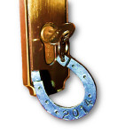 Hufeisen als Schlüsselanhänger