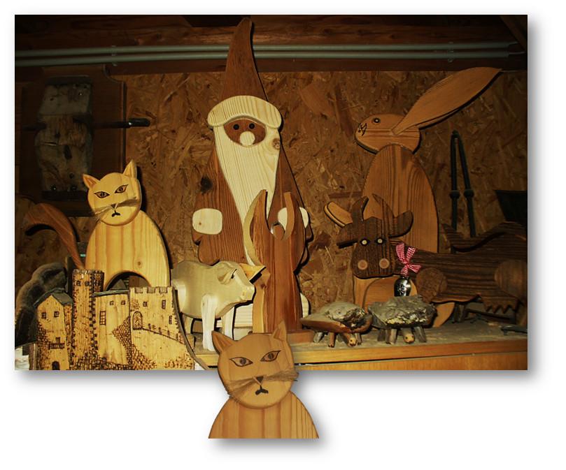 Katze mit Kollegen