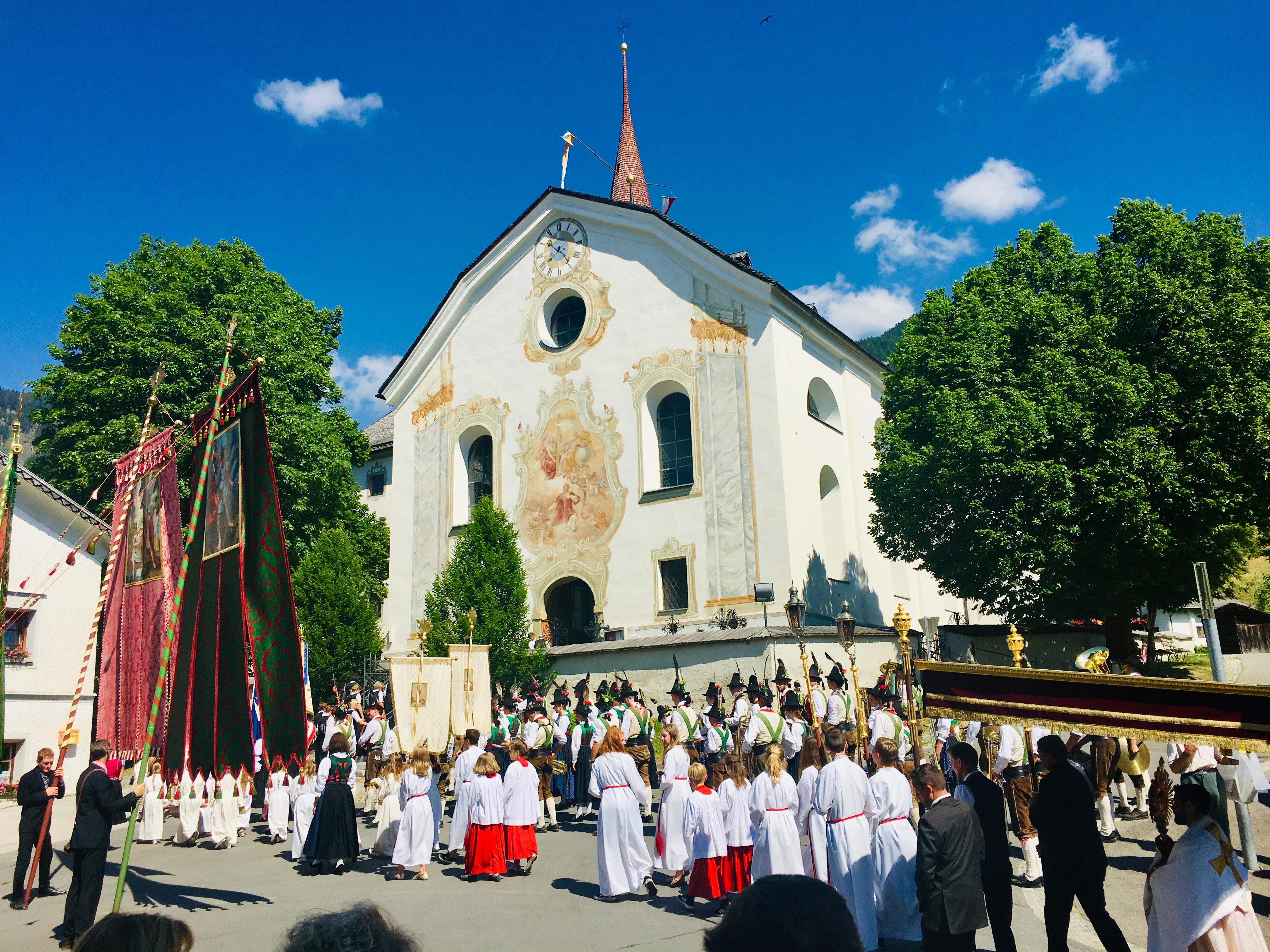 Film Herz-Jesu-Prozession